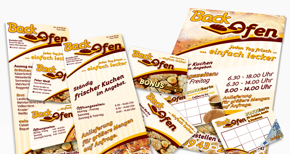 Corporate Design der ehem. Backofen GbR