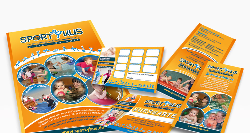 Corporate Design der Fa. Sportykus